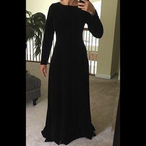 Velvet Full Length Dress